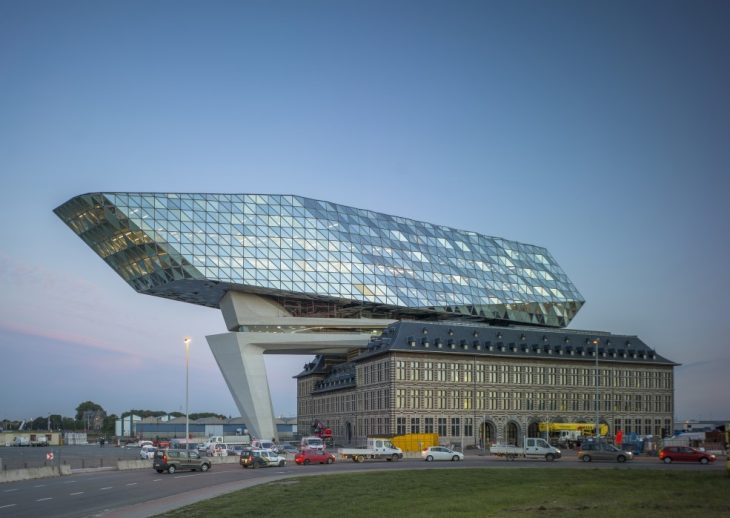 Zaha Hadid's Port House in Antwerp named Best Refurbished Building