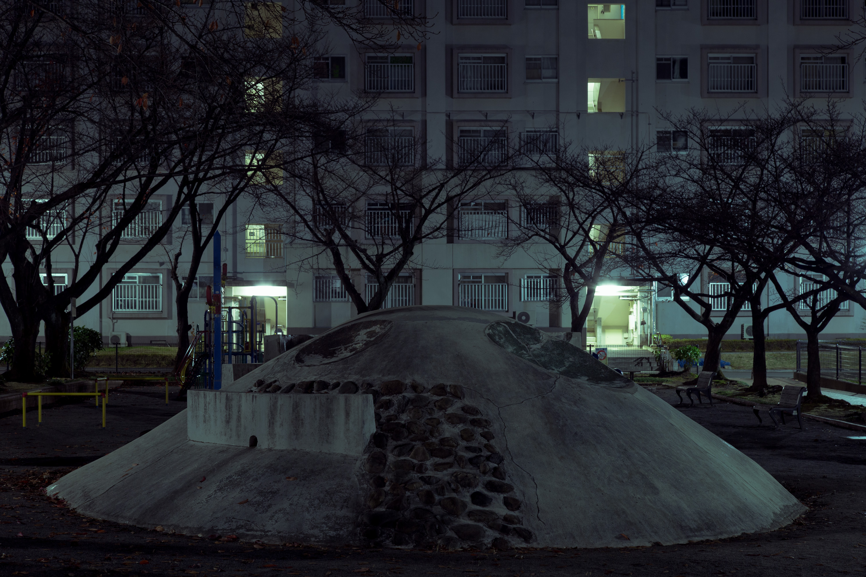 Magnificent Night Pictures of Forgotten Buildings