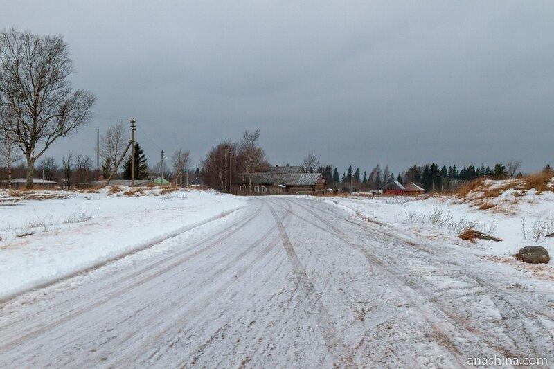 Деревня Гневашевская, Вологодская область