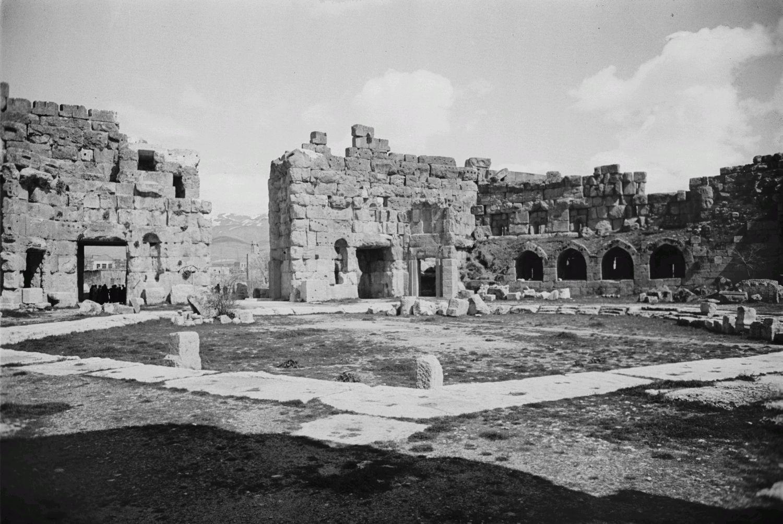 Храмовый комплекс. Большой двор храма Юпитера