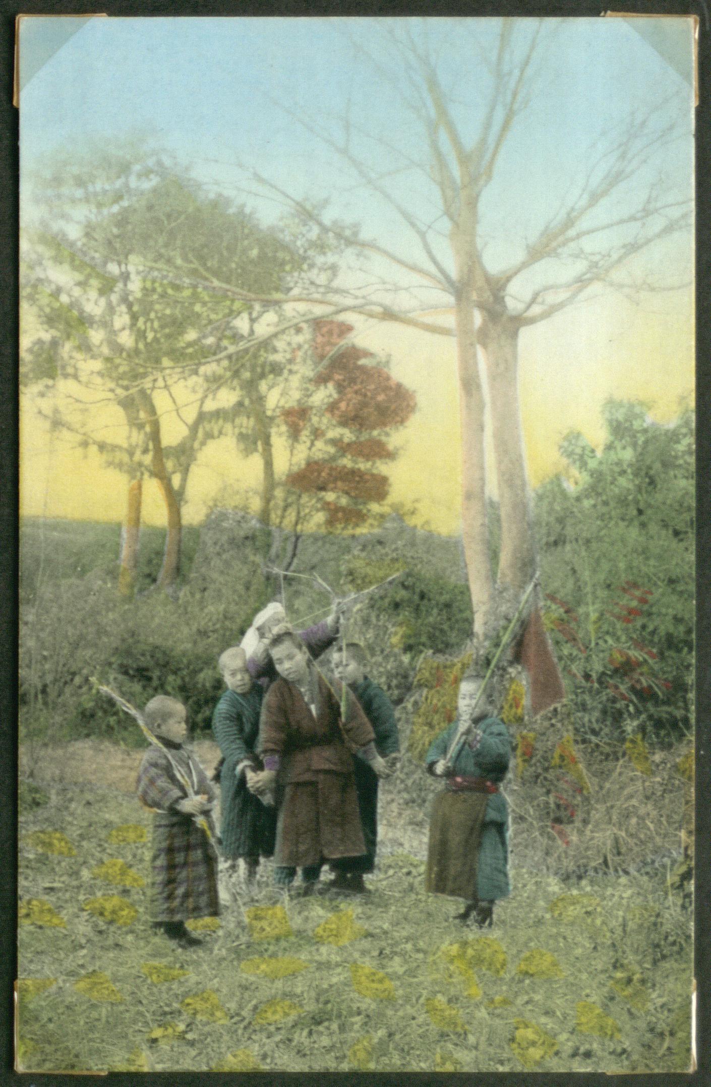 Дети с луком