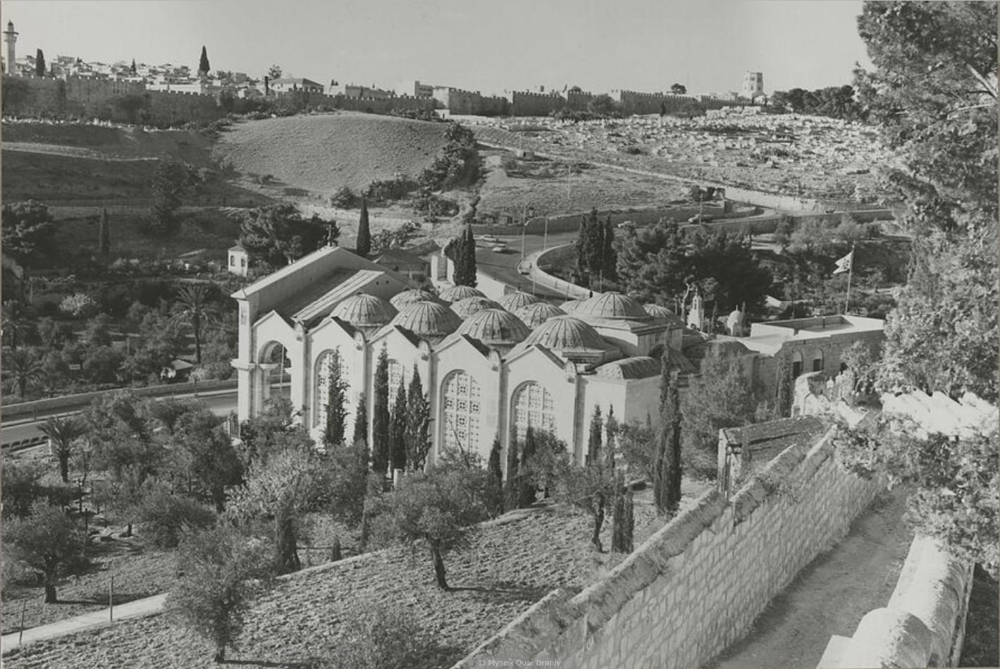 Иерусалим. Церковь Всех Наций (базилика Агонии Господней)