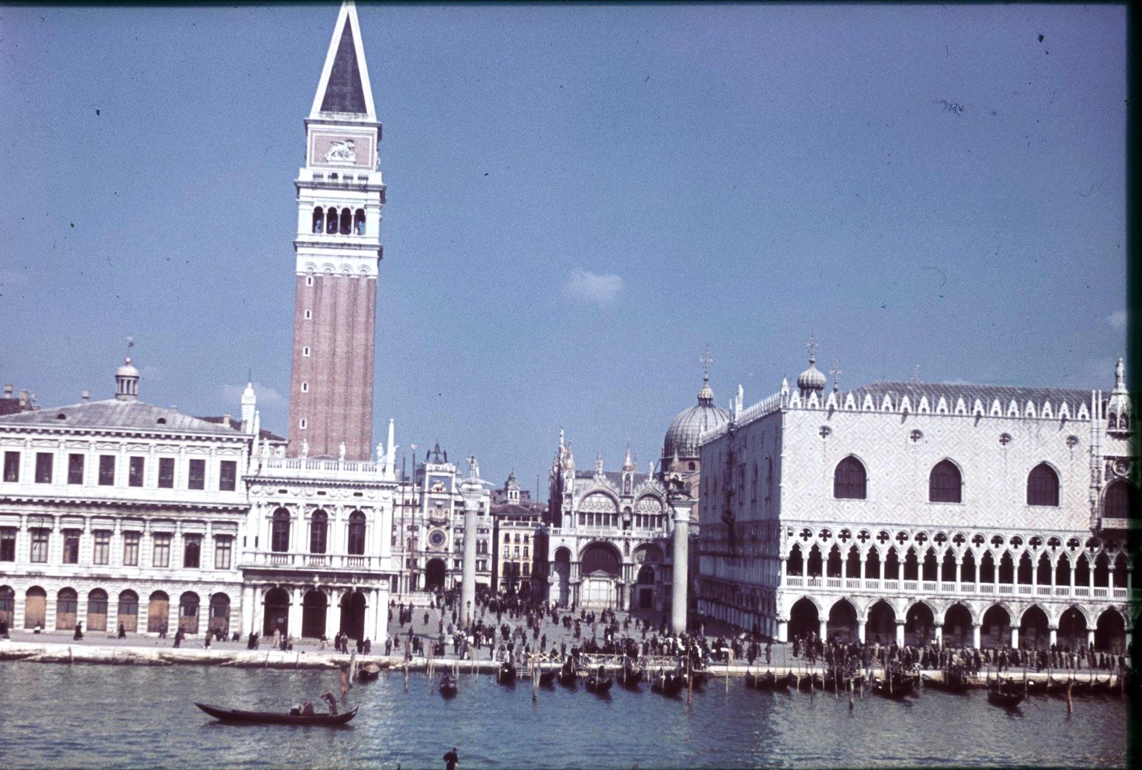 Кампанила собора Святого Марка и Дворец Дожей