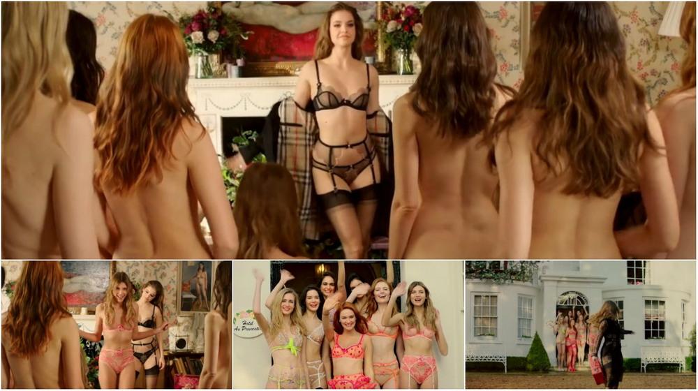 Agent Provocateur убеждает голых девушек начать носить белье