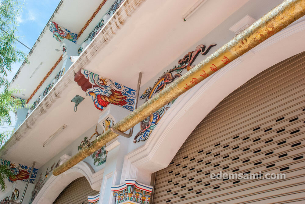 Китайский храм в Пхукет-Тауне