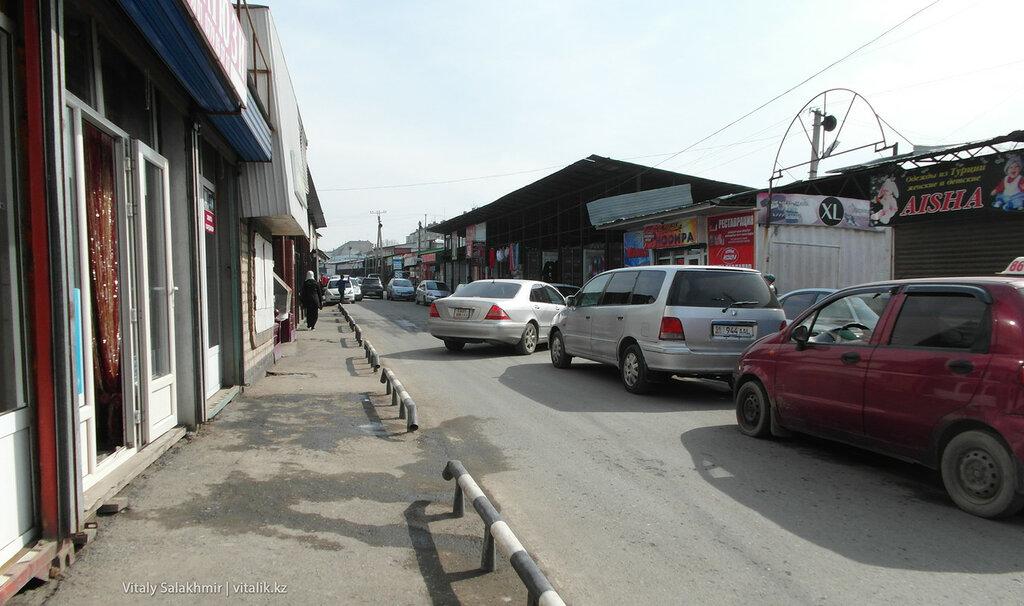 Базарная улица в Оше