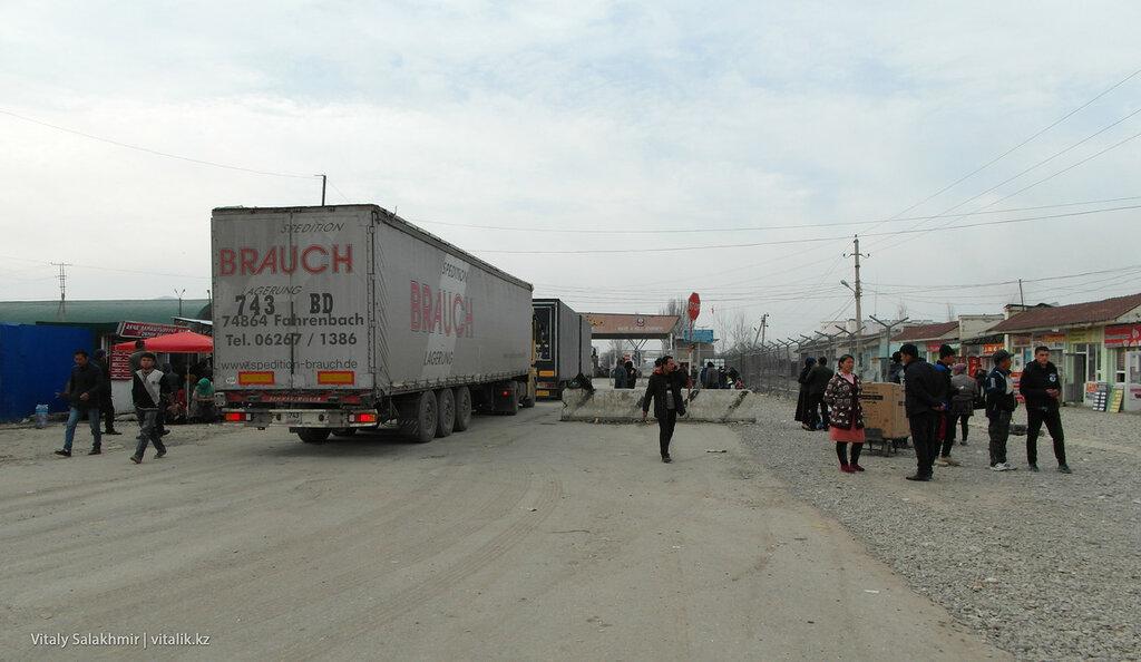 Граница Кыргызстана с Узбекистаном.