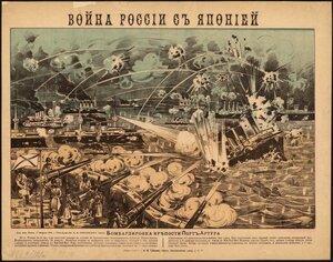 Бомбардировка крепости Порт-Артура