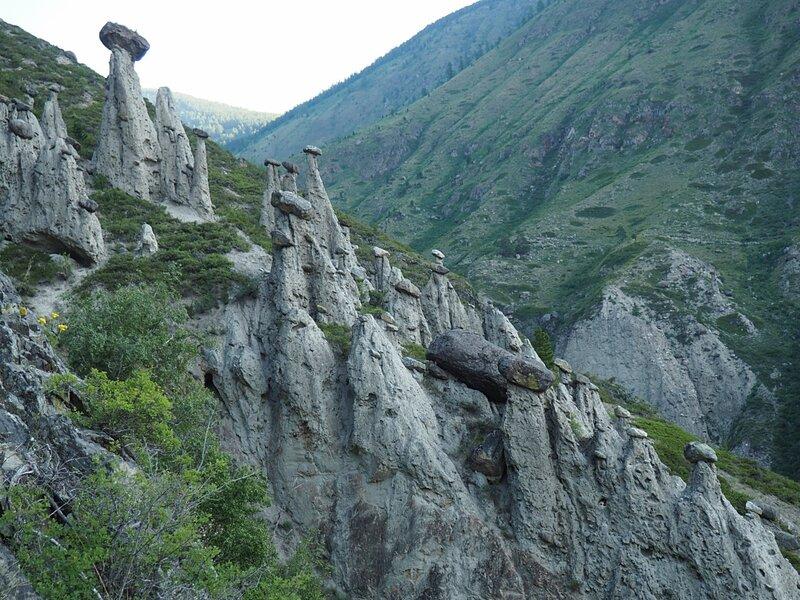 Горный Алтай, Каменные грибы (Mountain Altai, Stone mushrooms)