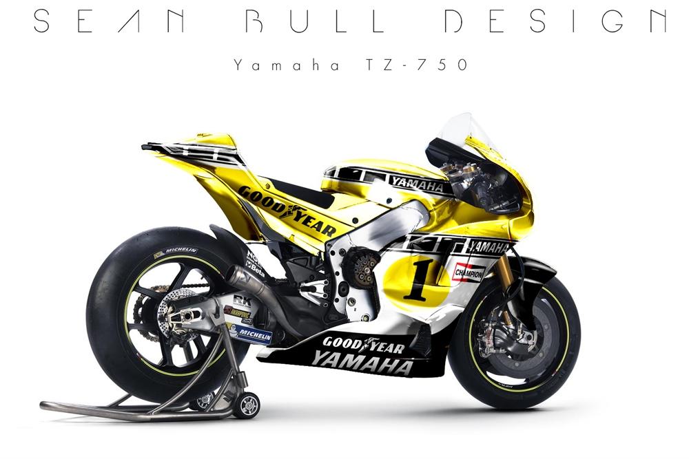 Sean Bull Design: ретро расцветки из Гран При