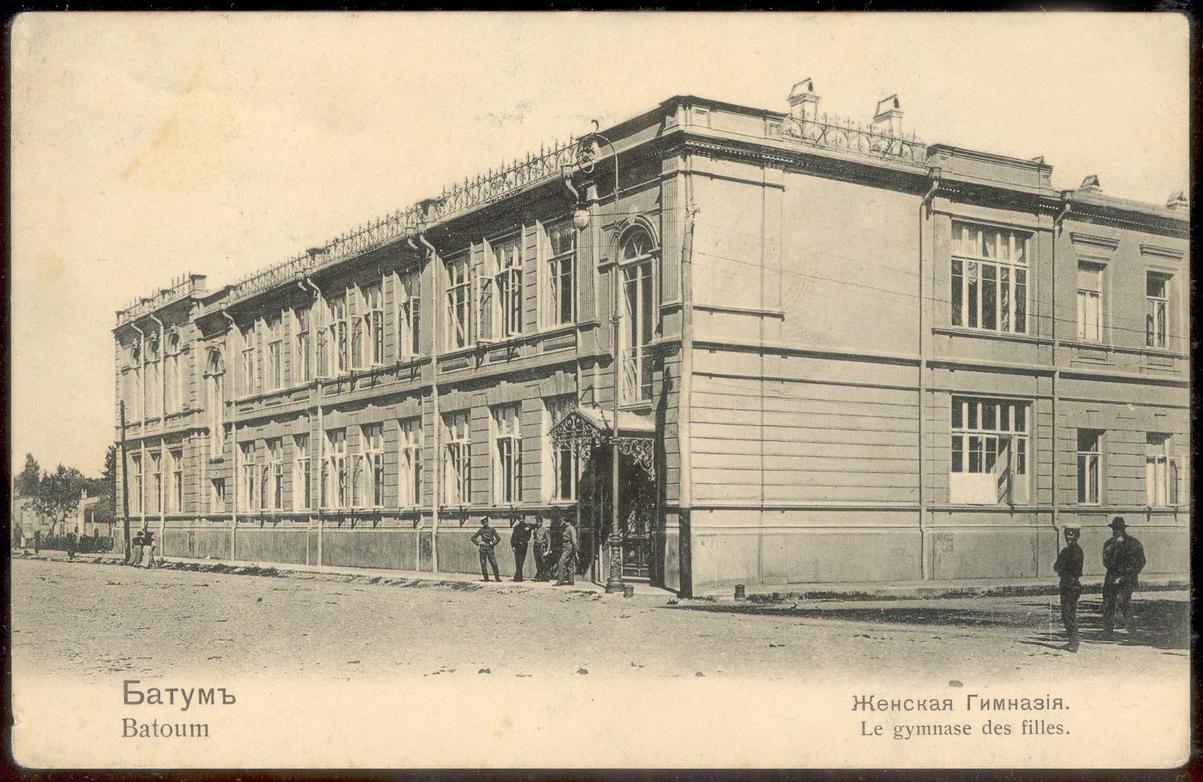 Женская гимназия на Вознесенской улице