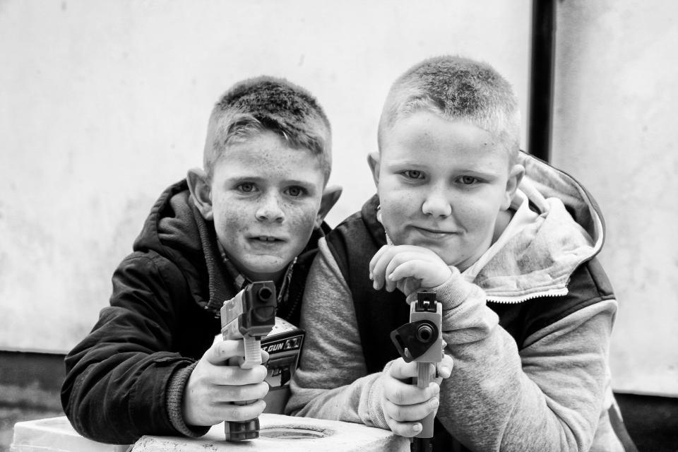 Ирландские кочевники на снимках Джейми Джонсона