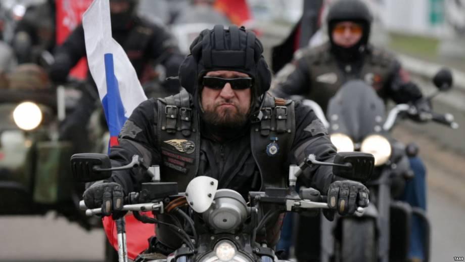 Прокремлевские байкеры добрались боснийского региона Республики Сербской