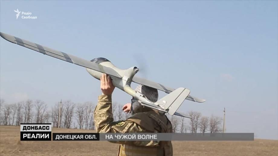 На оккупированной части Донбасса боевики используют новую российскую технику (видео)