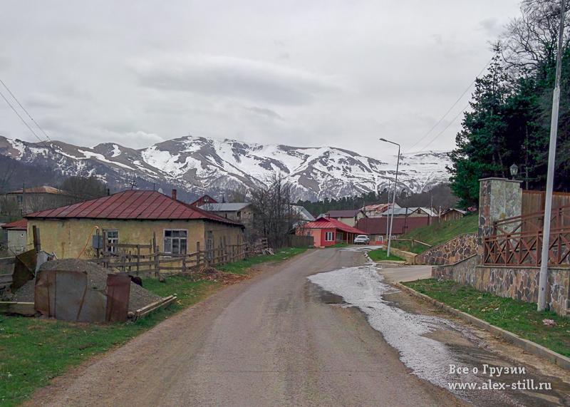 Поселок Бакуриани