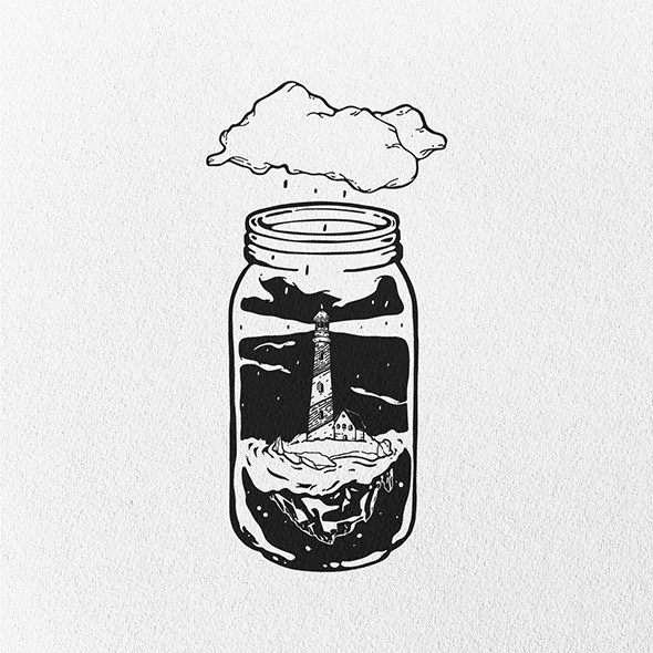 As ilustracoes de bolso de Dario Anza
