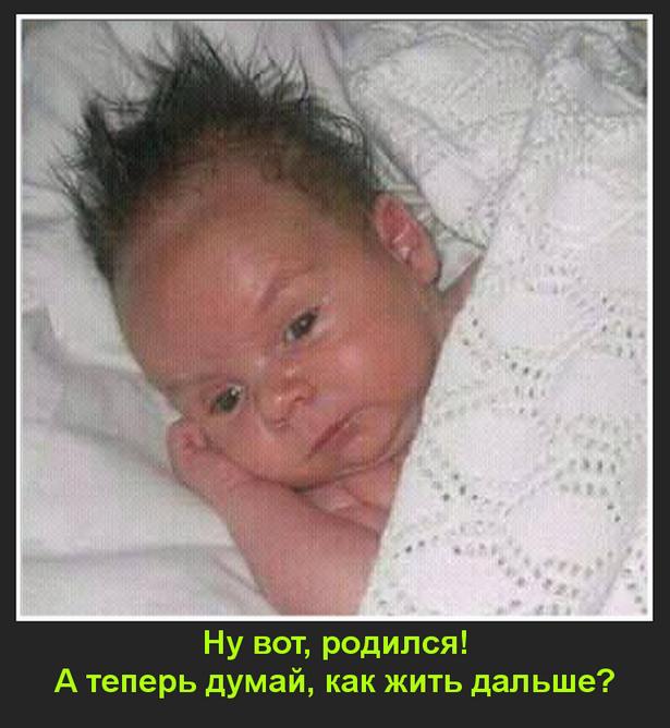 Ну вот, родился...