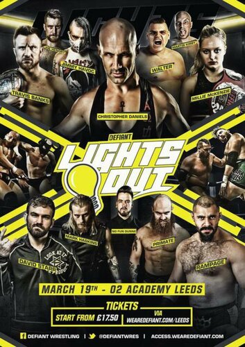 Post image of Defiant Lights Out 2018