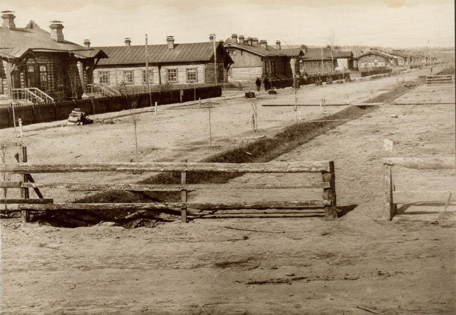 Первая линия жилых домов