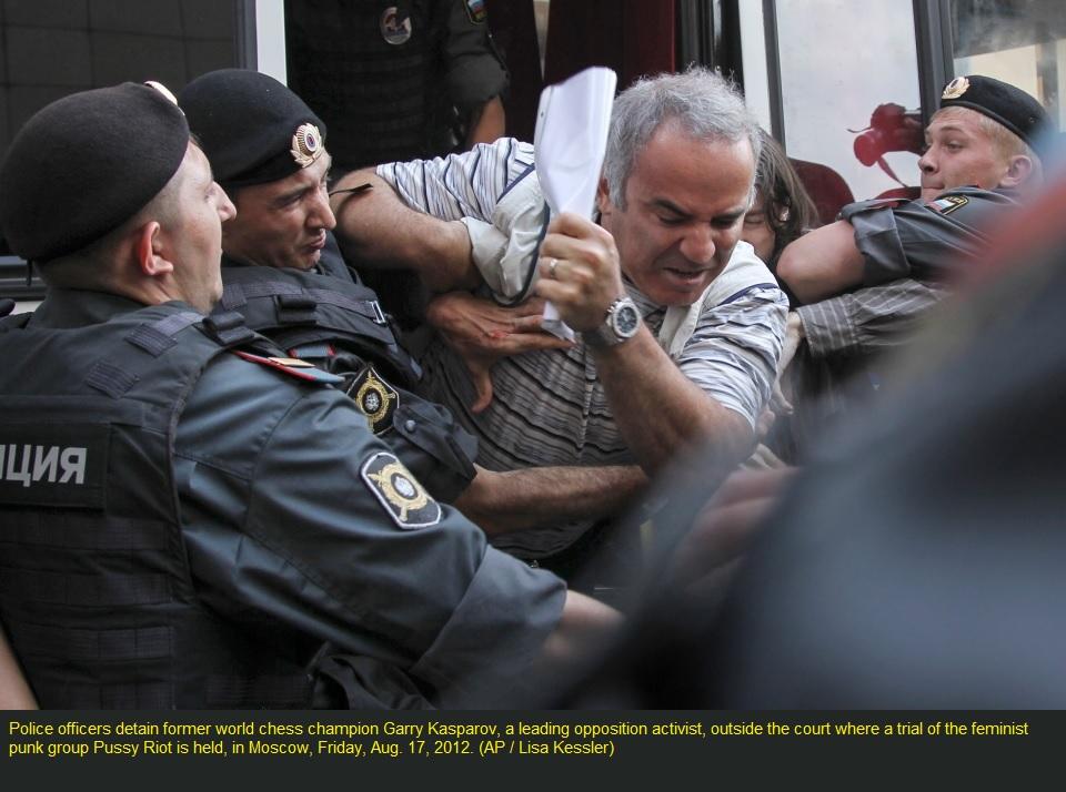 Каспаров Гарри(3), Москва, Россия, 17авг. 2012