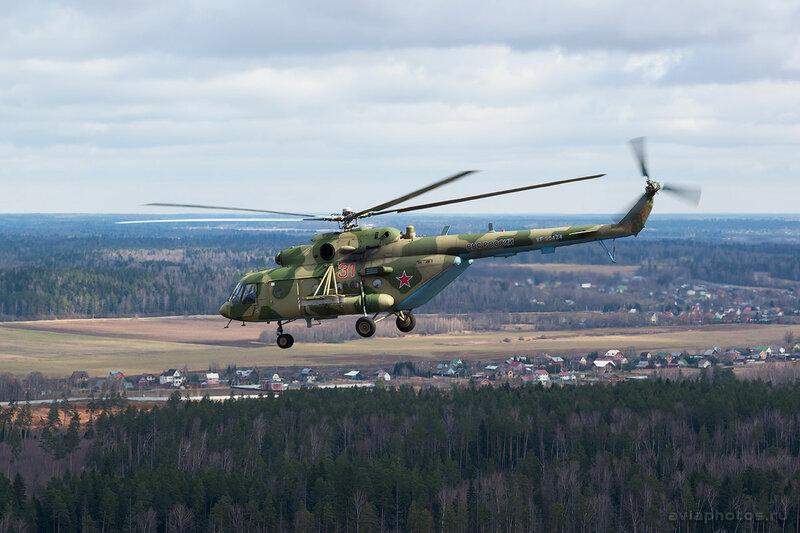 Миль Ми-8МТВ-5 (RF-90424 / 31 красный) ВКС России D800410