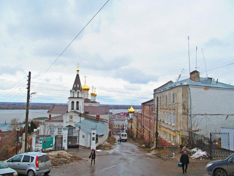 Церковь пророка Илии, Ильинская улица, Казанская церковь