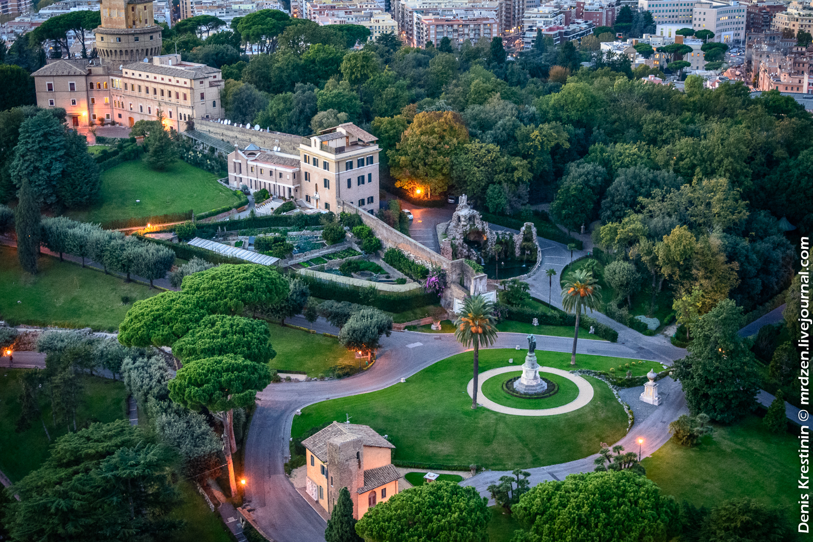 Ватиканские сады