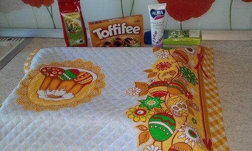 """1. Ирина мамочкаИрочка делала подарок для Инги РыбКа65 . Это яркое """"одеяло"""" для пирогов."""