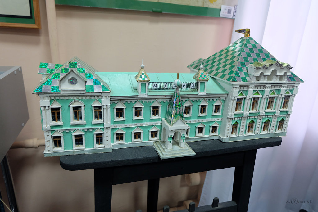 Шуйский краеведческий музей, макет здания музея