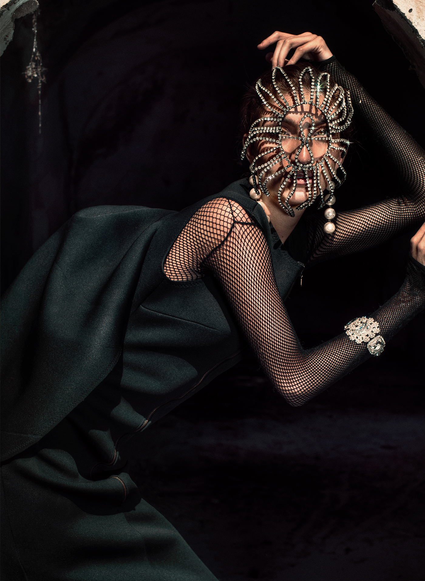 The Wicked / фотограф Jvdas Berra модель Daniela Gommar