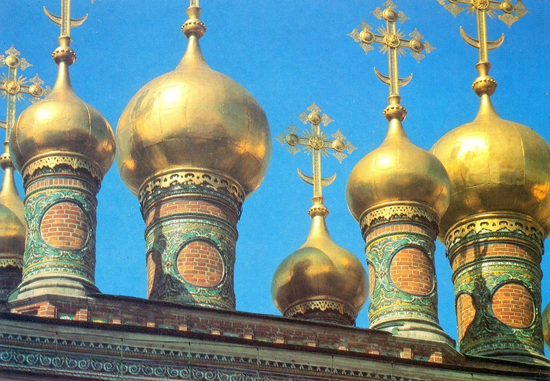 ZAVODFOTO / История городов России в фотографиях: Москва XVII века в конце 1980-х годов