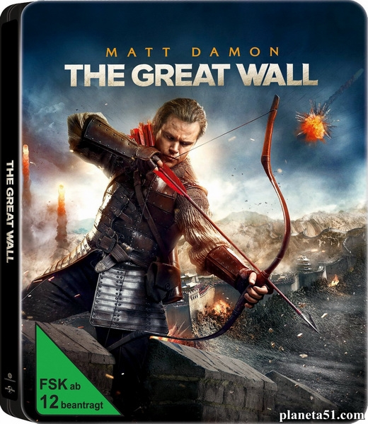 Великая стена / The Great Wall (2016/BDRip/HDRip) + Remux + 3D
