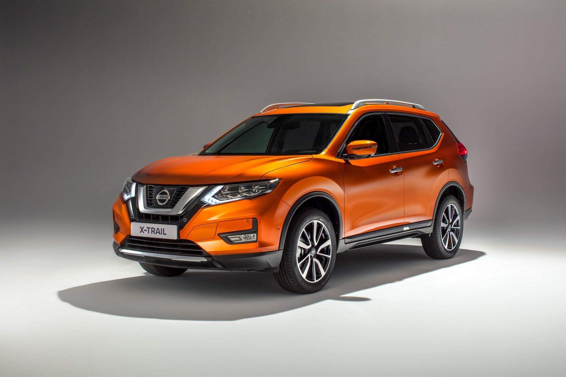 Nissan презентовал обновлённый X-Trail для европейского рынка