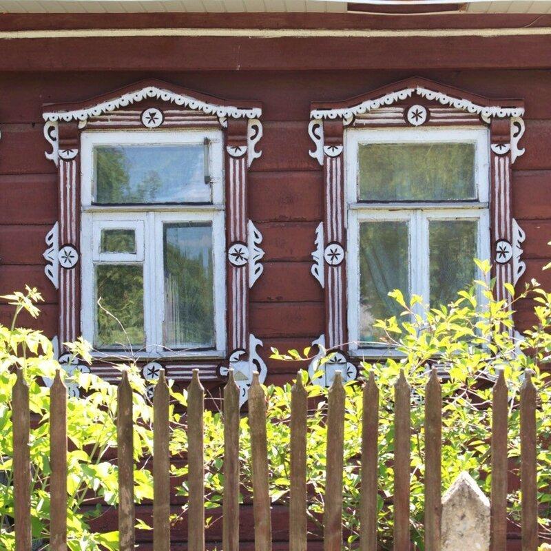IMG_4651 Деревянное зодчество - красивые дома с резными наличниками - фото.jpg