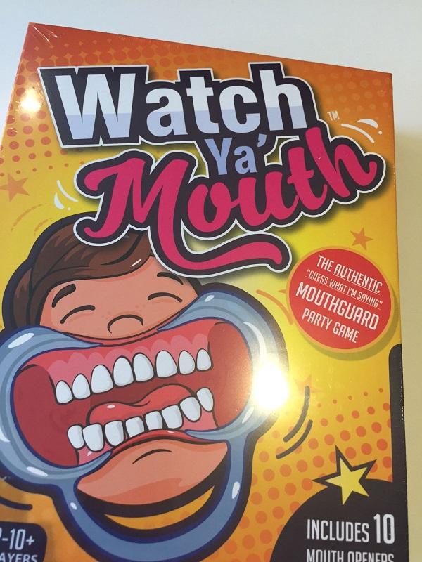 Диковатая игра для вечеринок Watch Ya' Mouth.
