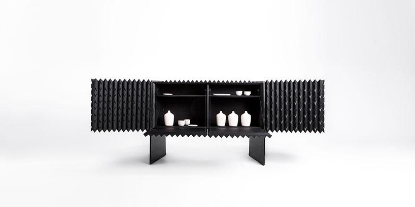 Коллекция шкафов и посуды вдохновленные напитком мескаль