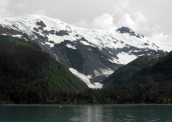 Ледник Муир и впадина Муир, Аляска — 1880–е годы Названный в честь известного шотландского натуралис
