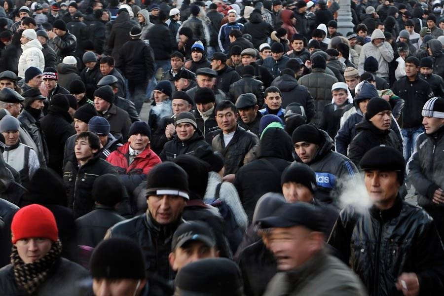 Мигранты в Москве: