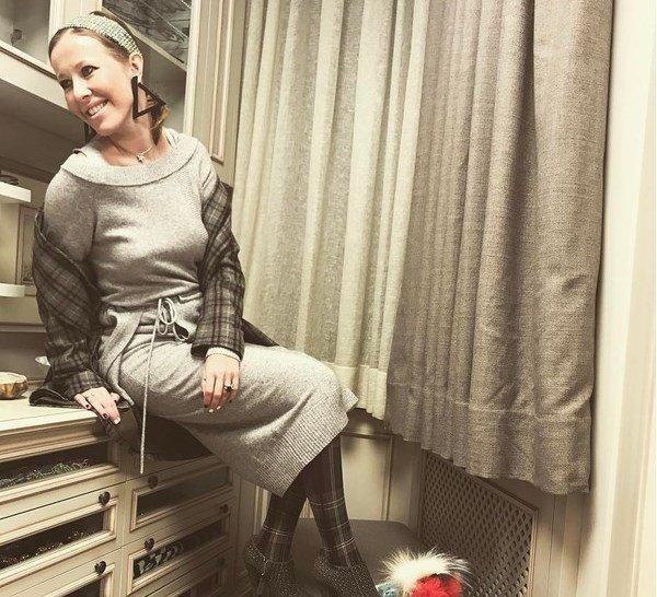 Ксения Собчак показала, как она выглядит без нижнего белья