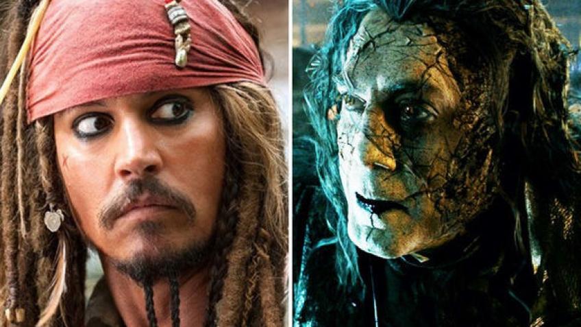 Втрейлере новых «Пиратов Карибского моря» кДжонни Деппу возвращается юность