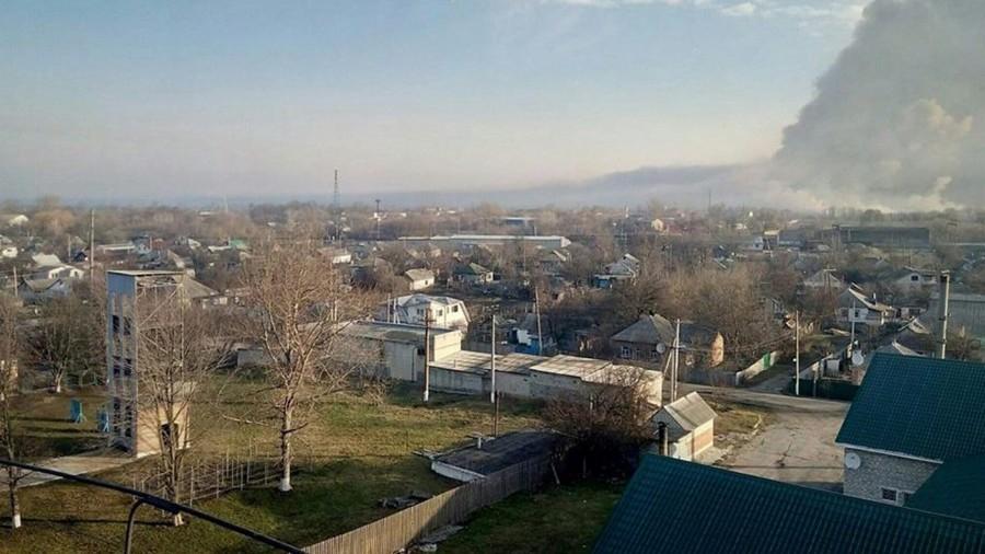 Полторак: Наскладах вБалаклее после пожара уцелели 30% боеприпасов