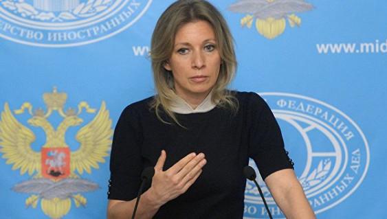 Захарова поблагодарила украинцев за сожаления после теракта в северной столице