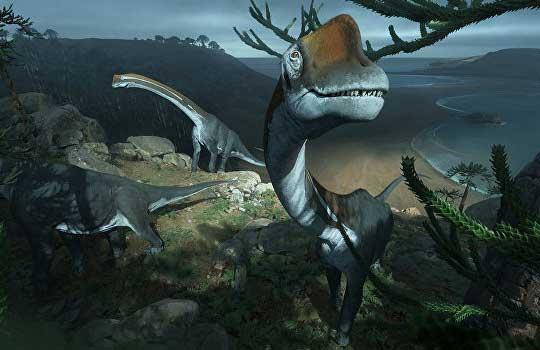Ученые случайно обнаружили вмузее останки крупного динозавра Европы
