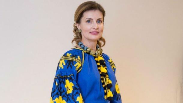 Джамала вэффектном белом одеяние поприветствовала гостей «Евровидения-2017»