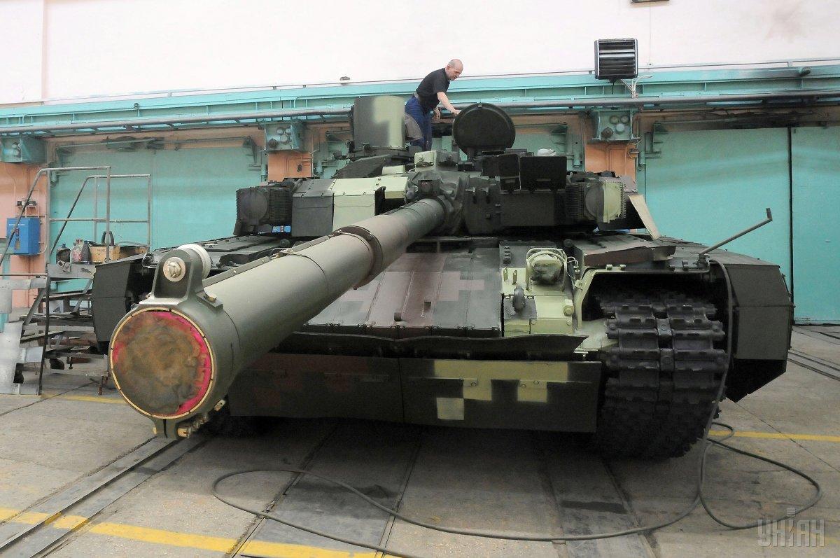 ВХарькове отремонтировали ипередали ВСУ 50 танков «Булат»
