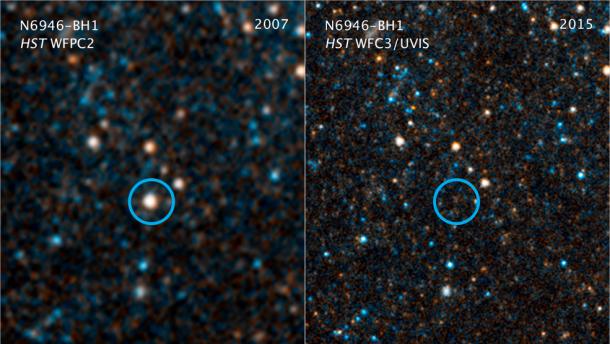 Очевидно она превратилась вчерную дыру— Астрономы потеряли звезду