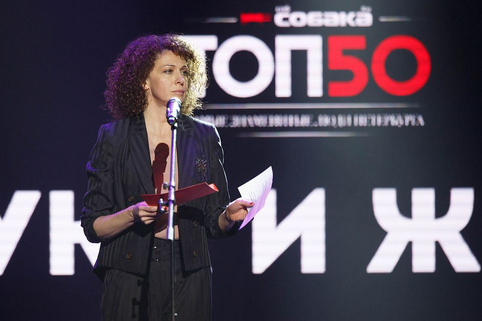 Шнуров получил премию самых известных людей Петербурга