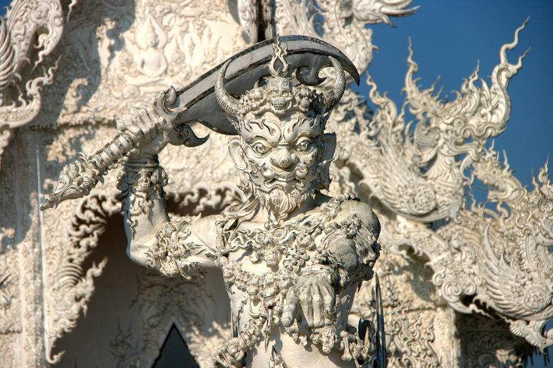 Wat Rong Khun.
