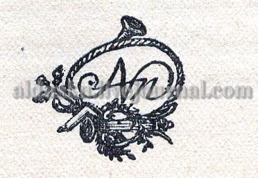 Из книги «Братские увещания…» 1784. Рис. на стр. 42
