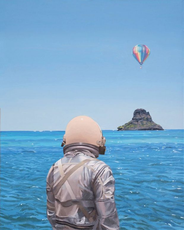 #ART The Lonely Astronaut by Scott Listfield (19 pics)
